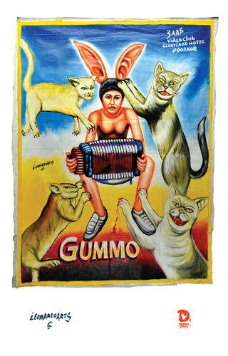 GUMMO (High Quality Print) - Leonardo