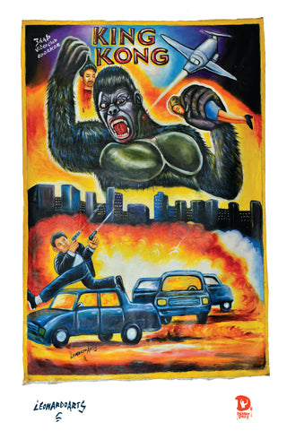 KING KONG (High Quality Print) - Leonardo
