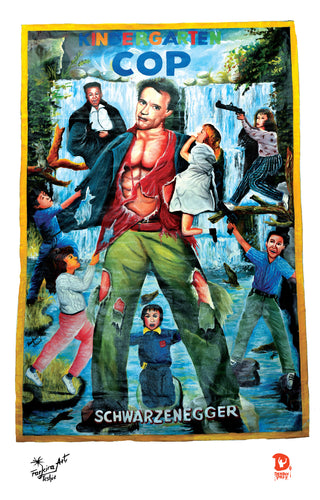 KINDERGARTEN COP (High Quality Print) - Farkira
