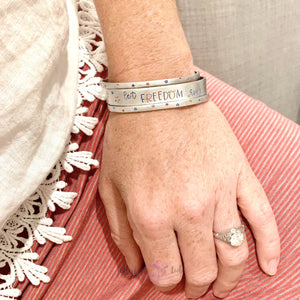 American Girl | American Mama | Let Freedom Ring | Patriotic Bracelets