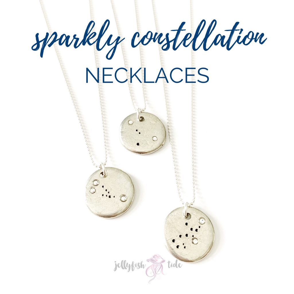 Sparkly Constellation Necklace