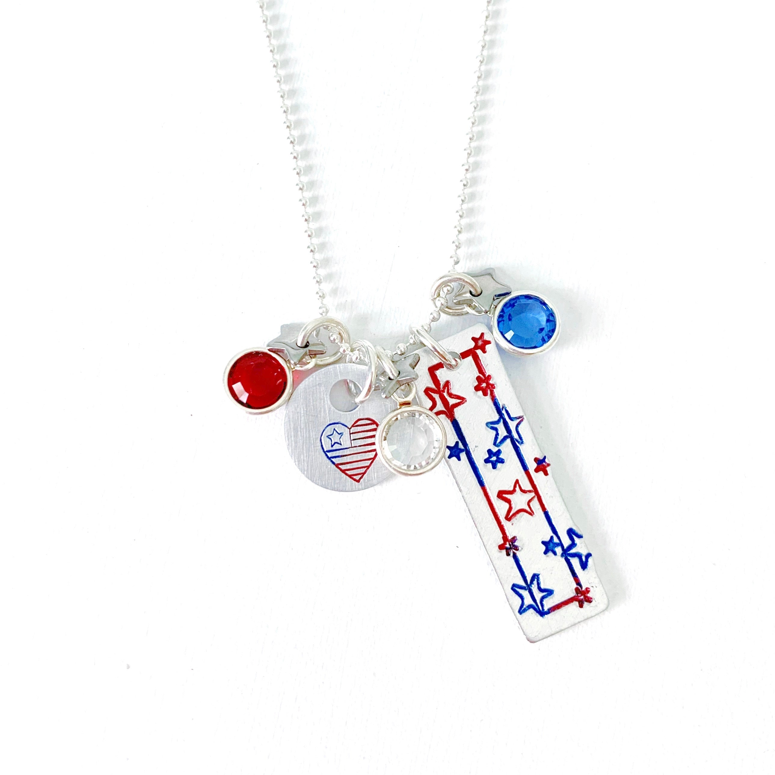 All American | Fourth of July Necklace