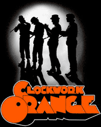 CLOCKWORK ORANGE #2 - Clapping Backpatch