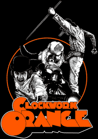 CLOCKWORK ORANGE #3 - Collage Backpatch