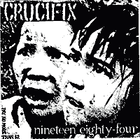 Crucifix 1984 Backpatch
