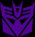 DECEPTICONS - Insignia Backpatch
