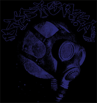 Dystopia #1 Gasmask Backpatch