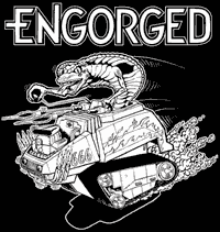 Engorged #1 Backpatch