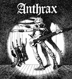 Anthrax #2 Backpatch