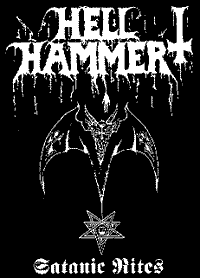 Hell Hammer #1 Backpatch