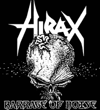 Hirax - Barrage of Noise Backpatch