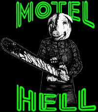 MOTEL HELL - Pigs Head Backpatch