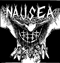 Nausea #1 (look at backside) Backpatch