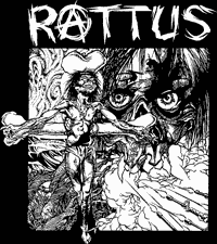 Rattus #2 Pushead Art Backpatch