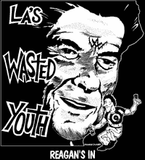 Wasted Youth #1 Backpatch