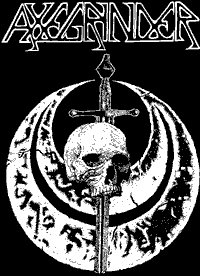 Axegrinder #2 Backpatch