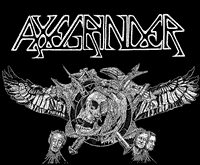 AXEGRINDER #4 - Wings  Backpatch