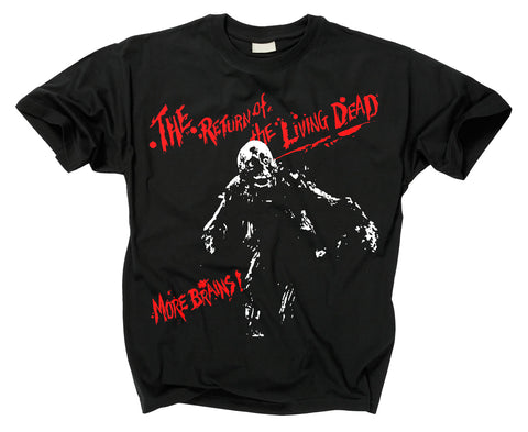 RETURN OF THE LIVING DEAD - Tarman More Brains T Shirt