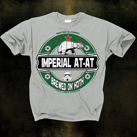 IMPERIAL AT AT - Brewed On Hoth T shirt