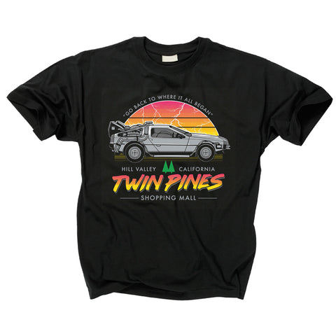 BACK TO THE FUTURE - Twin Pines Shopping Mall T Shirt