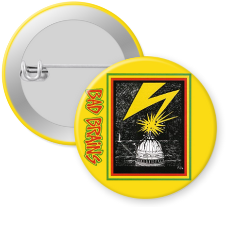 BAD BRAINS Button 1.25""