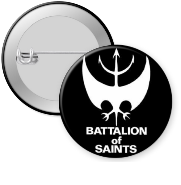 BATTALION OF SAINTS-LOGO Button 1.25""