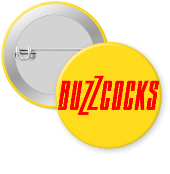 BUZZCOCKS-LOGO Button 1.25""