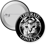 CONFLICT-LIBERATE Button 1.25""