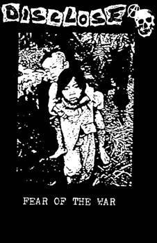 Disclose - Fear of the war Backpatch