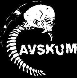 AVSKUM #3 - Spinal Skull backpatch