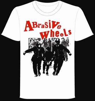 ABRASIVE WHEELS #2 - Riot Cops T shirt