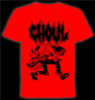GHOUL #1 - Red Mosher T shirt