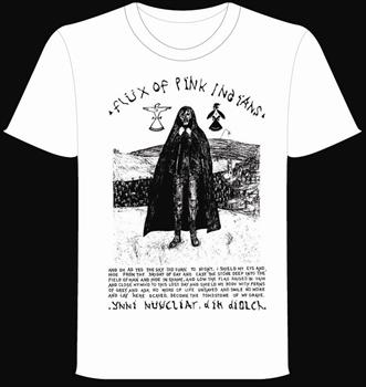 FLUX OF PINK INDIANS #2- White Graveyard T shirt