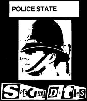 SPECIAL DUTIES #2 - POLICE STATE SMALL PATCH