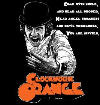 CLOCKWORK ORANGE #4 - Devil Trombones backpatch