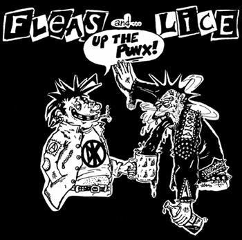 FLEAS AND LICE #3 - Up the Punx SMALL PATCH