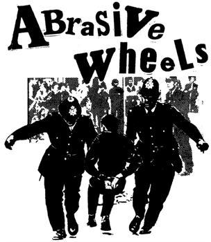 ABRASIVE WHEELS #2 - Riot Cops SMALL PATCH