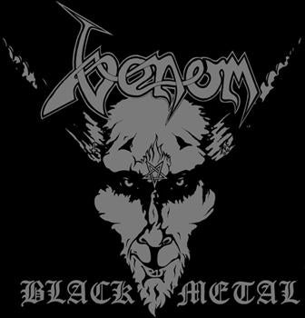 VENOM #2 - BLACK METAL SMALL PATCH