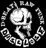 DISCLOSE #1 D-BEAT RAW PUNK LOGO SMALL PATCH