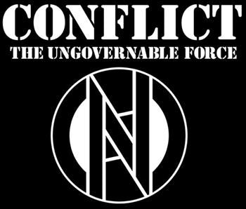 CONFLICT #1 THE UNGOVERNABLE FORCE SMALL PATCH