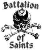 BATTALION OF SAINTS #5 SMALL PATCH