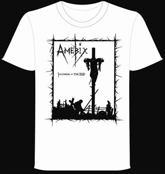 AMEBIX #1 - White Beginning Of The End T shirt