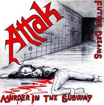 ATTAK #2 - Murder In The Subway backpatch