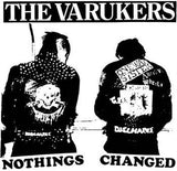 VARUKERS #6 - White Nothings Changed backpatch