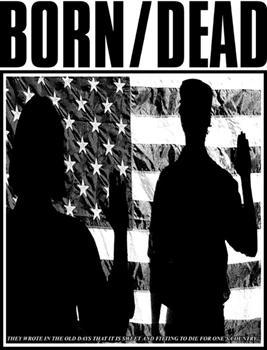 BORN DEAD #8 - Die For Ones Country backpatch