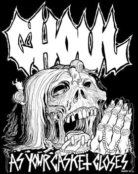 GHOUL #6 - As Your Casket Closes backpatch