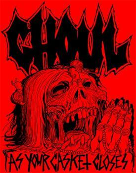 GHOUL #6 - Red As Your Casket Closes backpatch