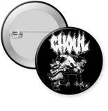 GHOUL-GHOUL MOSHER Button 1.25""
