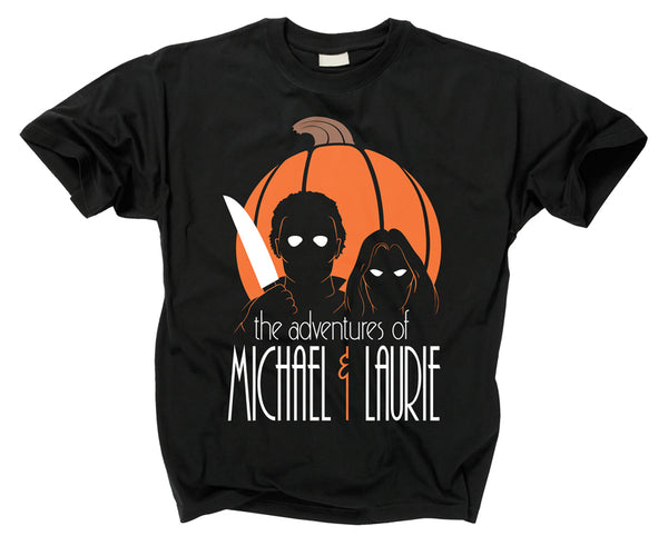 HALLOWEEN - Adventures of Michael and Laurie T Shirt