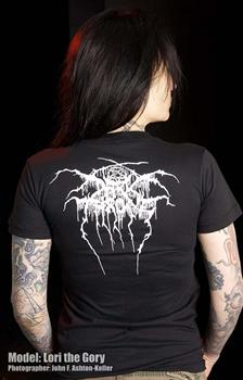 DARKTHRONE #1 - Transylvanian Hunger Girls Fitted T-Shirt